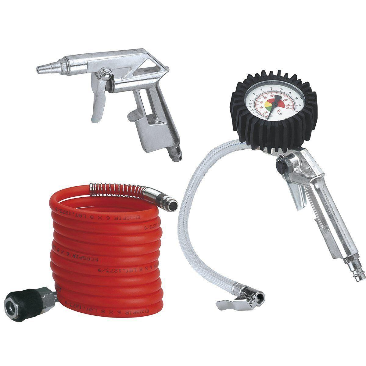 Set 3 accessori per compressore - Einhell